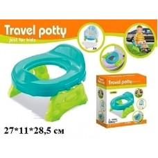 Детский дорожный горшок Travel Potty для мальчика (Baby Tilly 8806/8808)