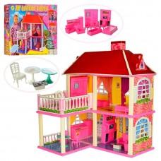 Двухэтажный Домик для кукoл Барби My Lovely Villa  (арт. 6980)