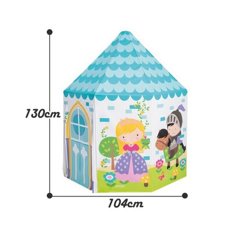 Детский домик-палатка - Принцесса (Intex 44635)
