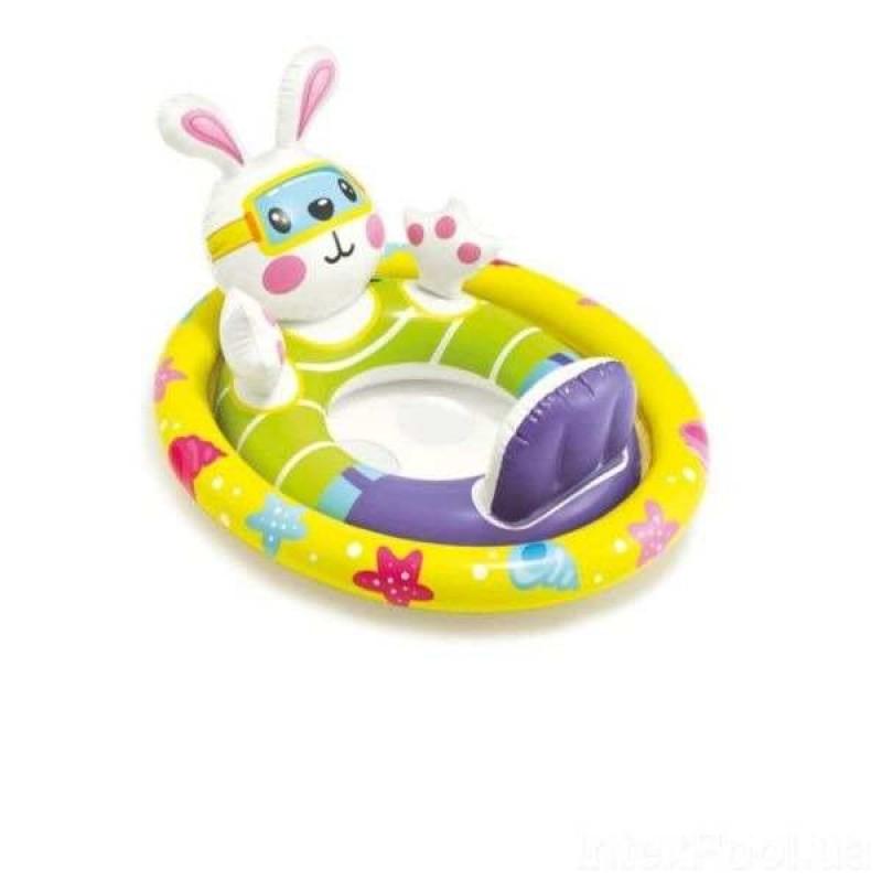 """Детский надувной круг с трусиками """"Зверюшки"""" (Intex 59570)"""