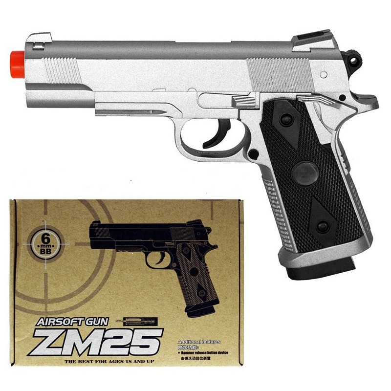 Игрушечный пистолет «Colt 1911 mini», металл/пластик (CYMA ZM25)
