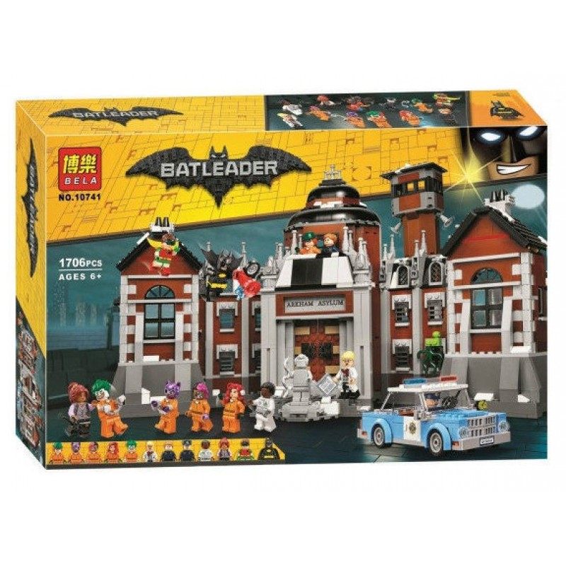 "Конструктор ""Batman MOVIE - Лечебница Аркхэм"" (арт. 10741)"