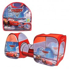 Детская двойная палатка с туннелем, Тачки (арт. 8015C)
