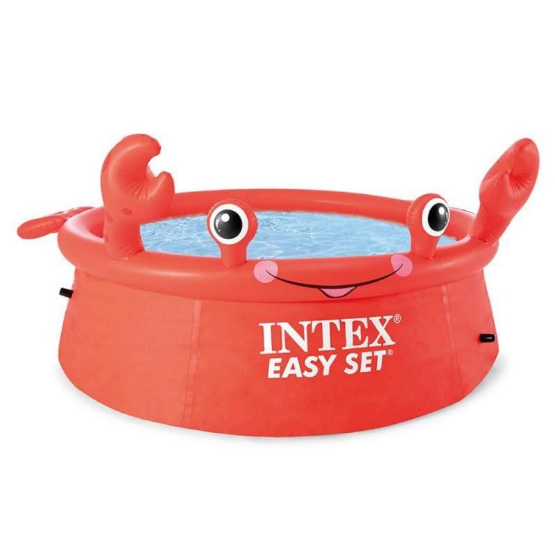 Надувной бассейн Крабик, 183 см (Intex 26100)
