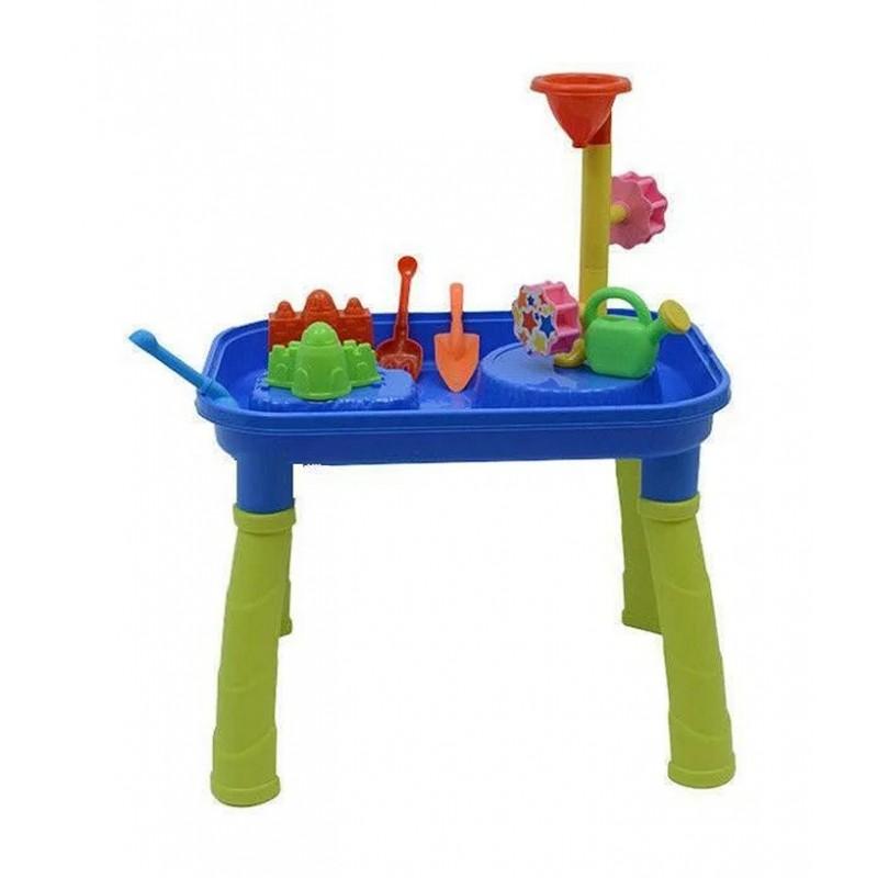 Игровой столик-песочница с мельницей (арт. М1313)