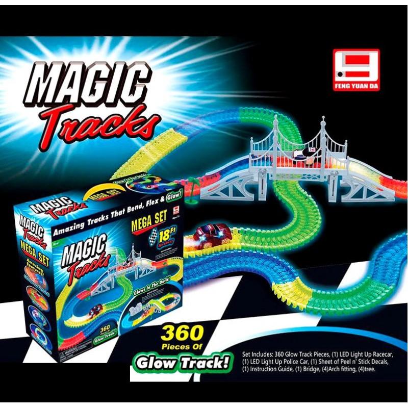Гоночный трек Magic Tracks, 360 дет. (FYD 170209A)