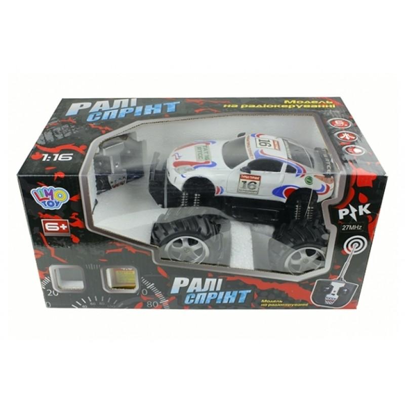 Джип Ралли Спринт на радиоуправлении (Limo Toy 9005)