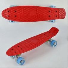 Скейт Penny Board, Красный (Best Board 0760)