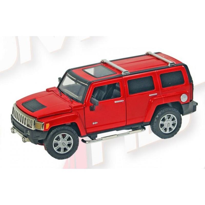 Автомодель 1:24 Hummer H3 (Автопром 68240A)