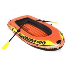 Трехместная надувная лодка Explorer PRO 300 (Intex 58358)
