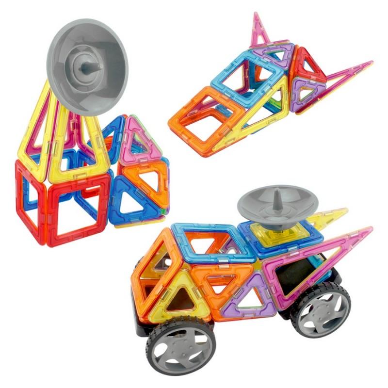 """Конструктор магнитный """"Исследователь"""" 24 детали (LImo Toy LT5004)"""