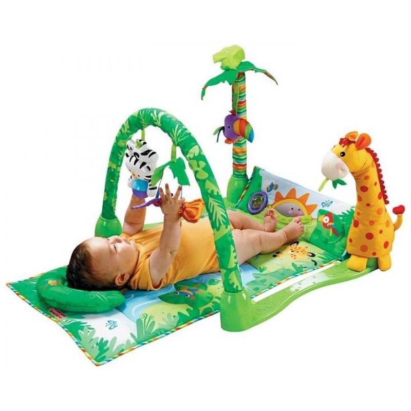 Развивающий коврик - Джунгли (Baby Gift 3059)