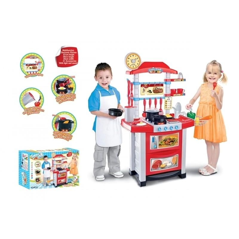 """Игровой набор - """"Детская кухня Super Cook"""" (Bambi 889-3)"""