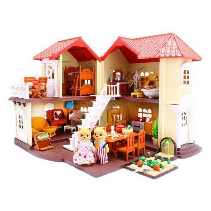 Домик Happy Family, животные флоксовые (BK Toys Ltd 012-01)