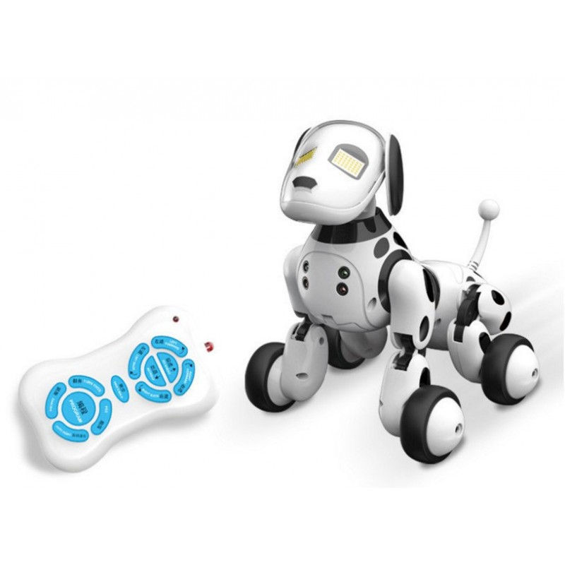 Интерактивная Собака-Робот Zoomer на р/у (Dimei 9007A)