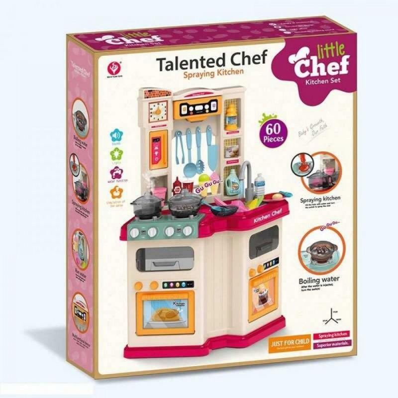 """Детская игровая кухня """"Талантливый Повар"""" с водой (арт. 922-110)"""