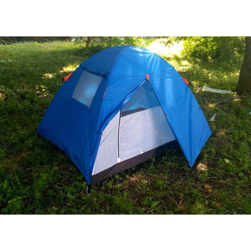 Палатка двухместная двухслойная с тамбуром и тентом (Coleman 1001)