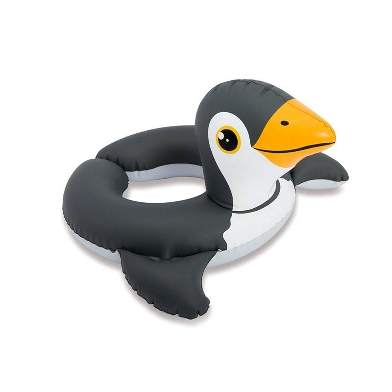"""Надувной круг """"Зверюшки"""" - Пингвин (Intex 59220-2)"""