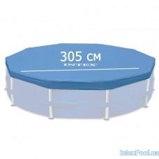 Тент для каркасного круглого бассейна - 305 см (Intex 28030)