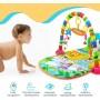 Развивающий коврик для малышей с пианино (арт. HE0603)