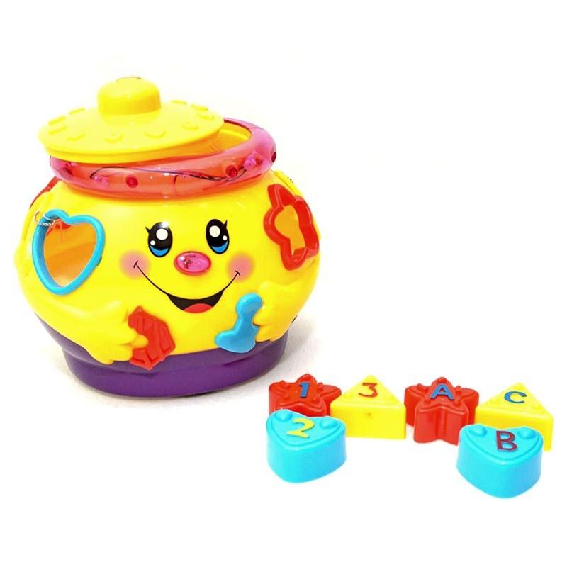 """Развивающая музыкальная игрушка """"Веселый горшочек"""" (Limo Toy 0915)"""
