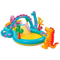 """Детский надувной центр """"Планета динозавров"""" (Intex 57135)"""