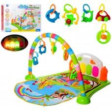 Развивающий коврик для малышей с пианино (Baby Gift BM6016-2)