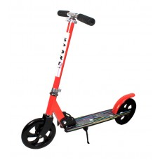 Самокат детский 2-колесный красный (Baby Tilly BT-KS-0168)