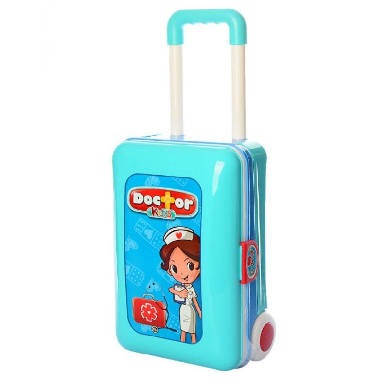 Игровой набор - Доктор 2 в 1 со столиком, в чемодане (арт. 008-925)