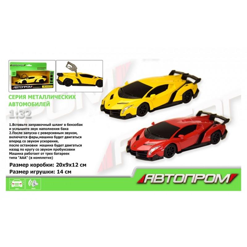Автомодель 1:32 Lamborghini Veneno (Автопром 7601)