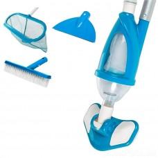 Набор для чистки бассейна с пылесосом для дна (Intex 28003)