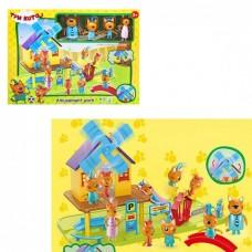 Игровой набор с фигурками - Три кота - Парк развлечений (арт. HM-183)