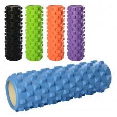 Массажный ролик для йоги, 45 х 14 см (Profi MS1843-1)