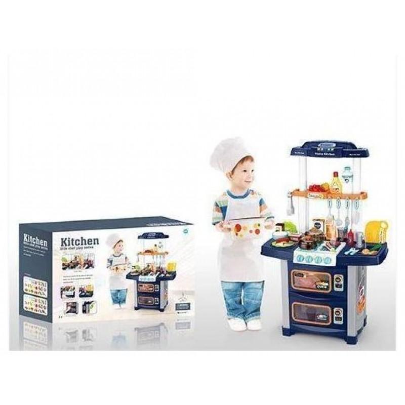 """Детская игровая кухня """"Kitchen"""" вода, пар, пульт д/у (арт. WD-P36-R36)"""
