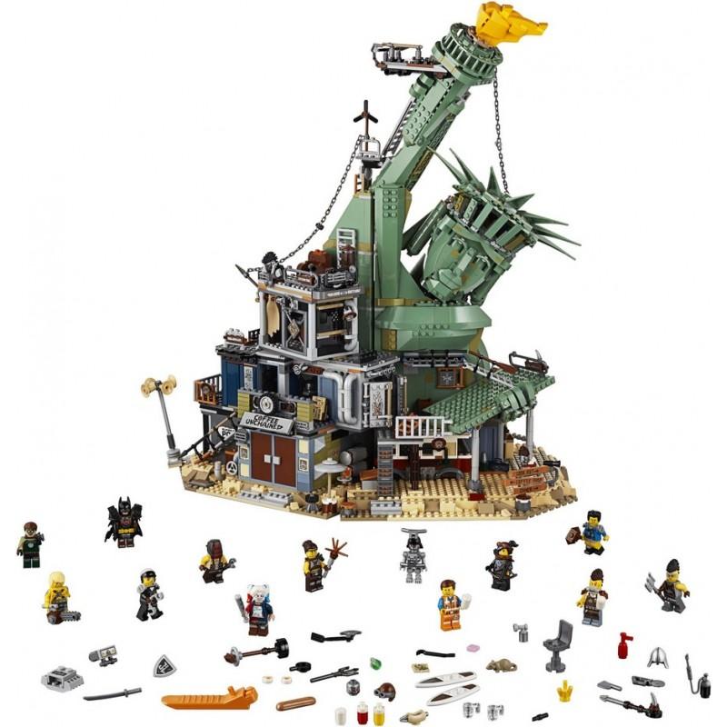 Конструктор Статуя Свободы - Добро пожаловать в Апокалипс-град (арт. 11252)