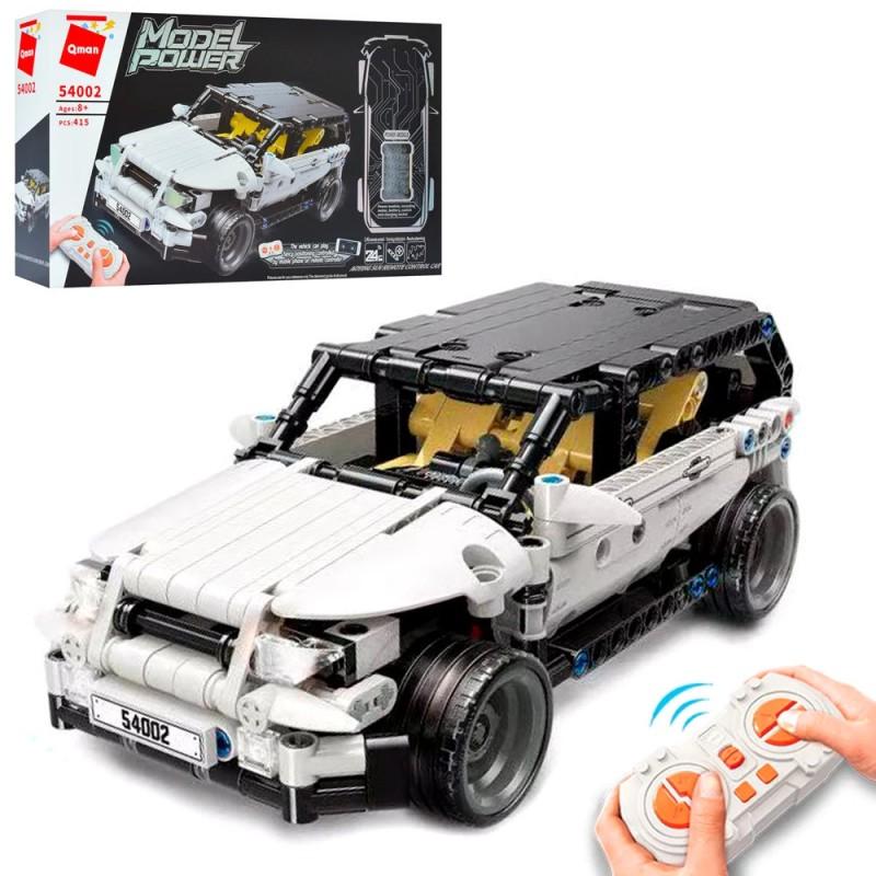 Конструктор Джип с радиоуправлением - пульт/смартфон (Qman 54002)