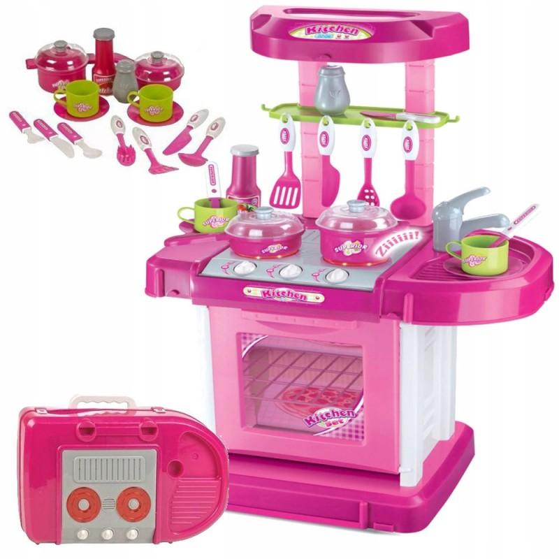 Кухня детская в чемоданчике (арт. 008-58)