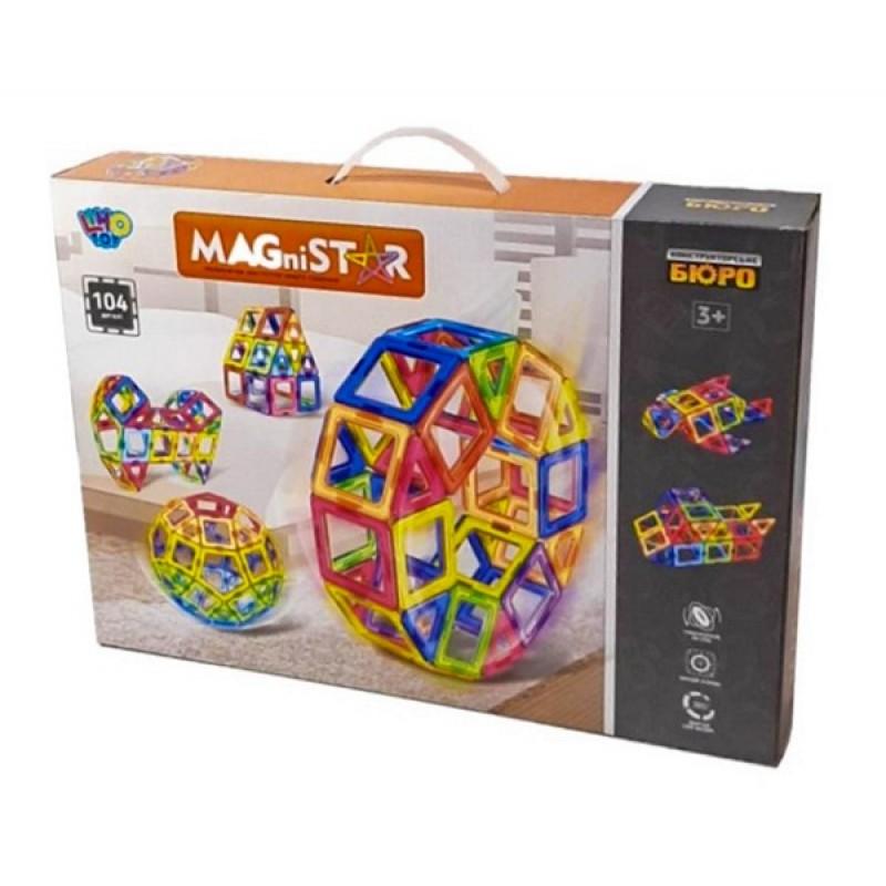 Конструктор магнитный Magnetic Sheet, 104 дет (MagKiss LT1003)