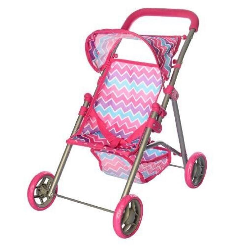 Кукольная коляска с козырьком (Jia Yu Toy 9304)