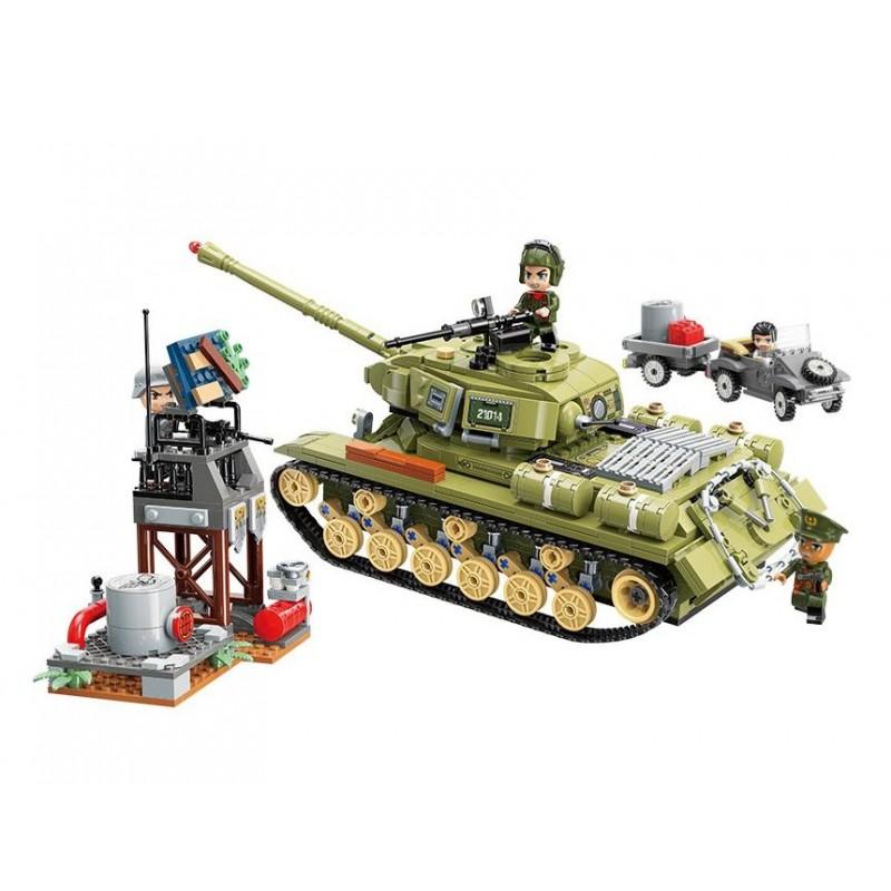 Конструктор Тяжелый танковый корпус (Qman 21014)